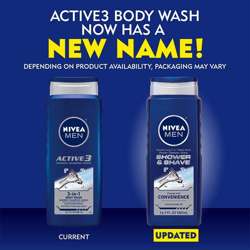 Nivea for Men Active 3