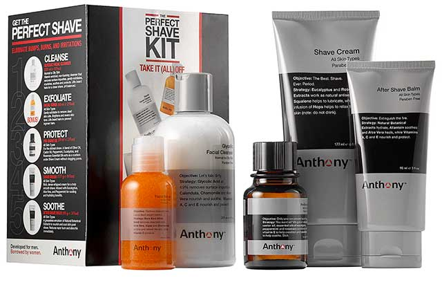 Anthony Logistics For Men - The Perfect Shave Kit