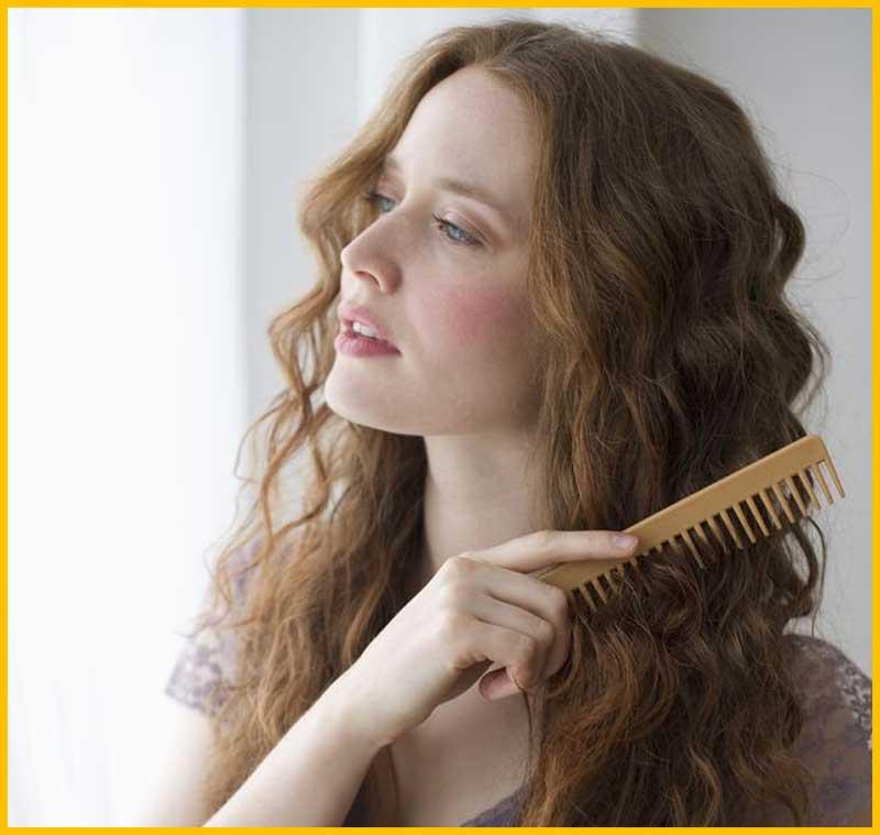 Pin Curl Long Hair