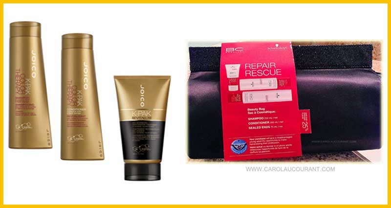 Pre-Packaged Holiday Gift Sets - hair products and tools