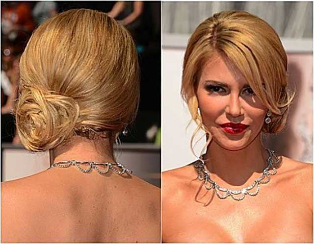 Side Mussy 'Do: Always a Holiday Party Hit