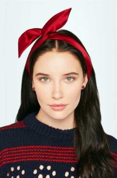 Yunotme silk-satin headband - Hair Accessories