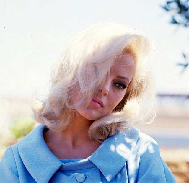 Blonde hairtyle