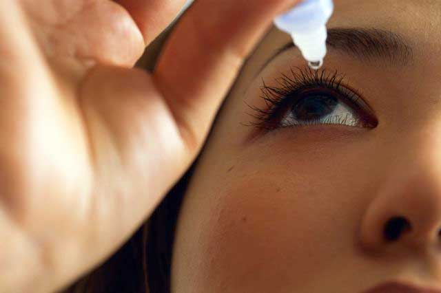Strangest Skin Care Advice - Eye Drops Help Get Rid of Pimples
