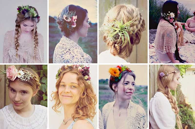 5 Casual DIY Ways To Wear Flowers In Your Hair