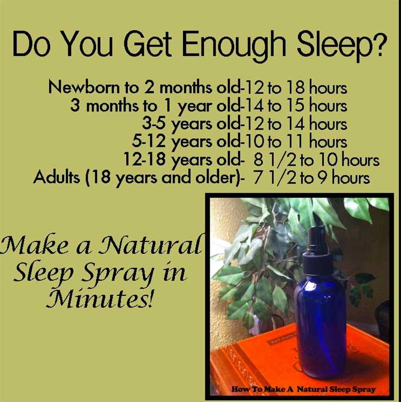 Natural Sleep Spray