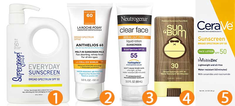 Best Sunscreens for All Skin Types