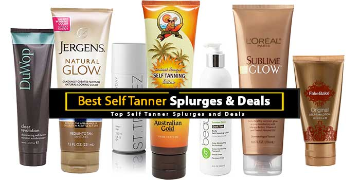 Best Self Tanner Splurges and Deals