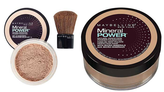 Maybelline Mineral Power Collection