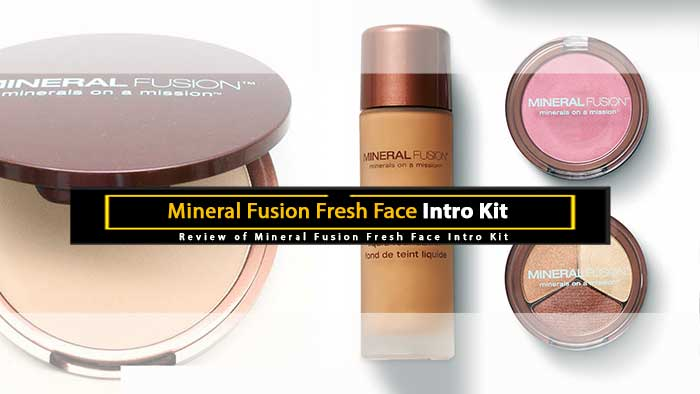 Mineral Fusion Fresh Face Intro Kit