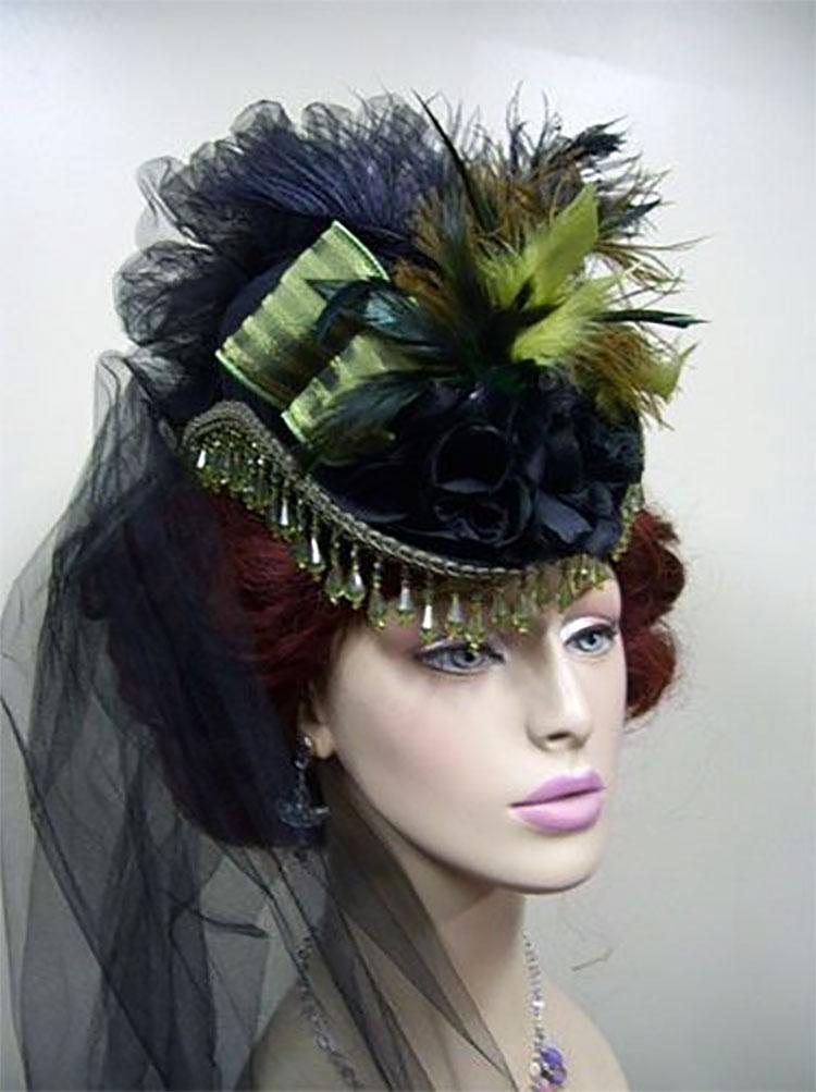 Neo Victorian Steampunk Hat