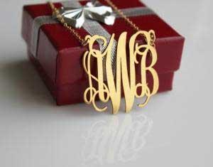 Personalized Monogram Jewelry