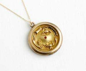 Sterling or Gold Lockets