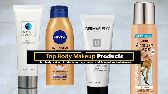 Top Body Makeup Products
