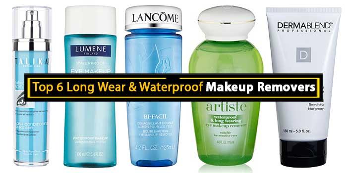 Waterproof Makeup Removers