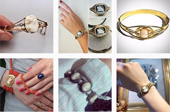 Cameo Jewelry - Cameo Bracelet