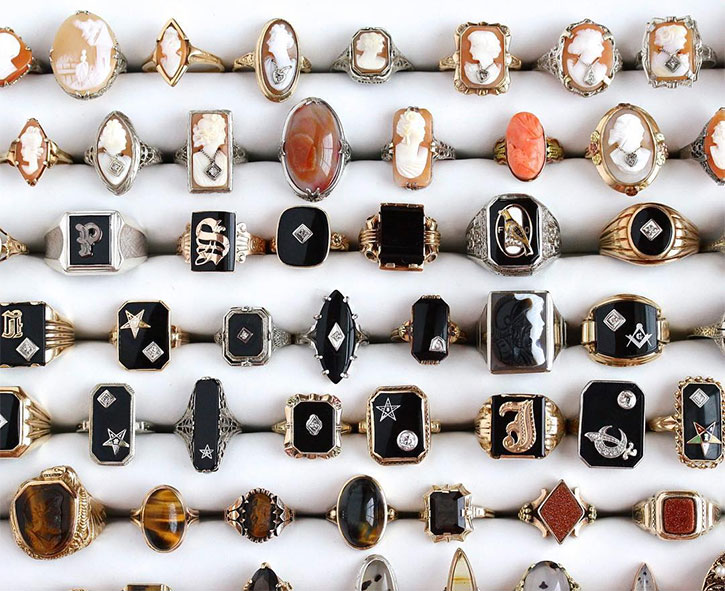 Shop for Cameo Rings