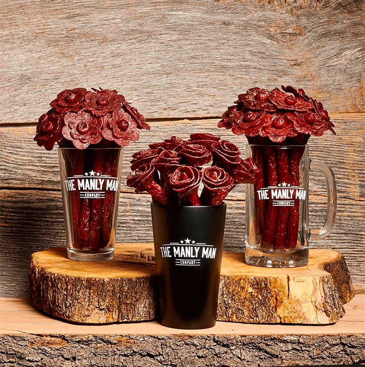 Beef Jerky Flower Bouquets: The Perfect Gift For The Man In Your Life