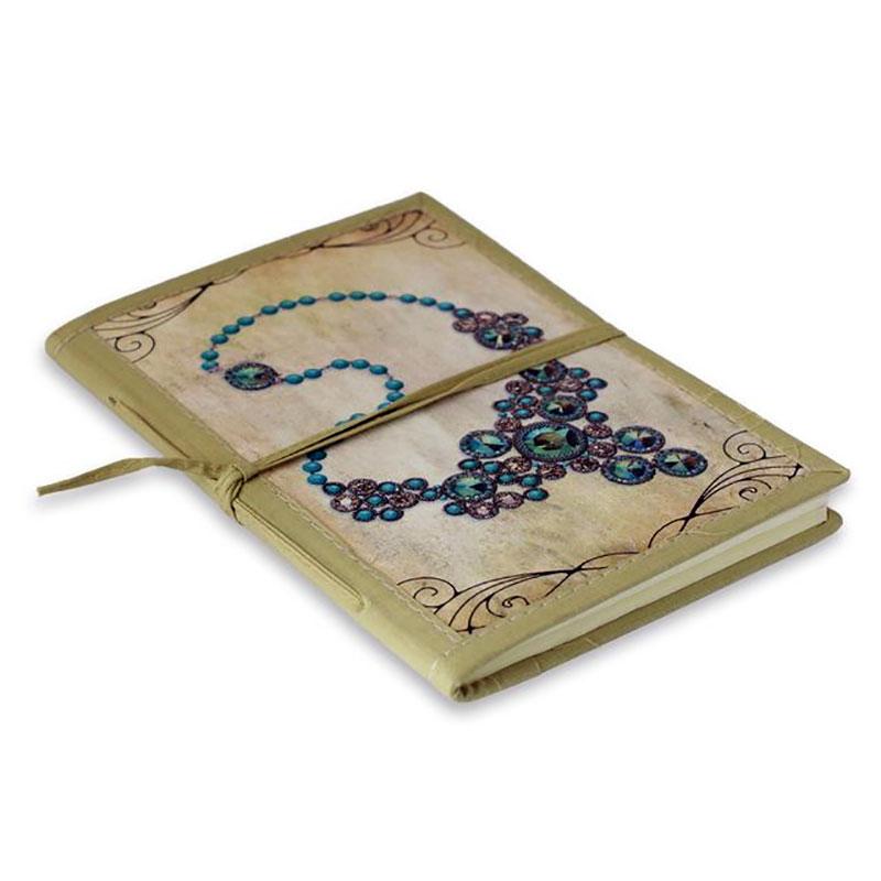 Jewel Motif Notebook
