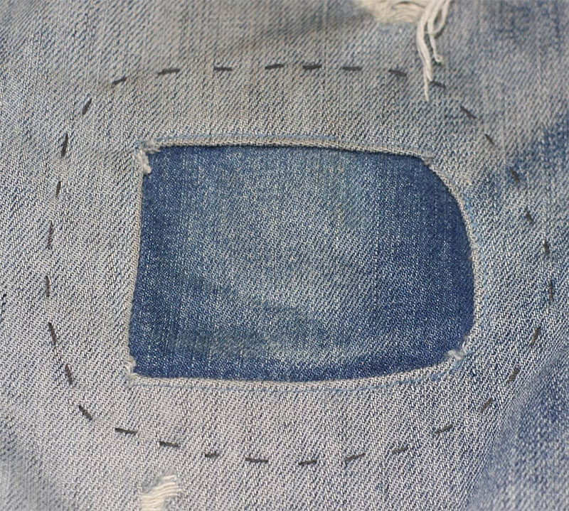 Create Worn Patches