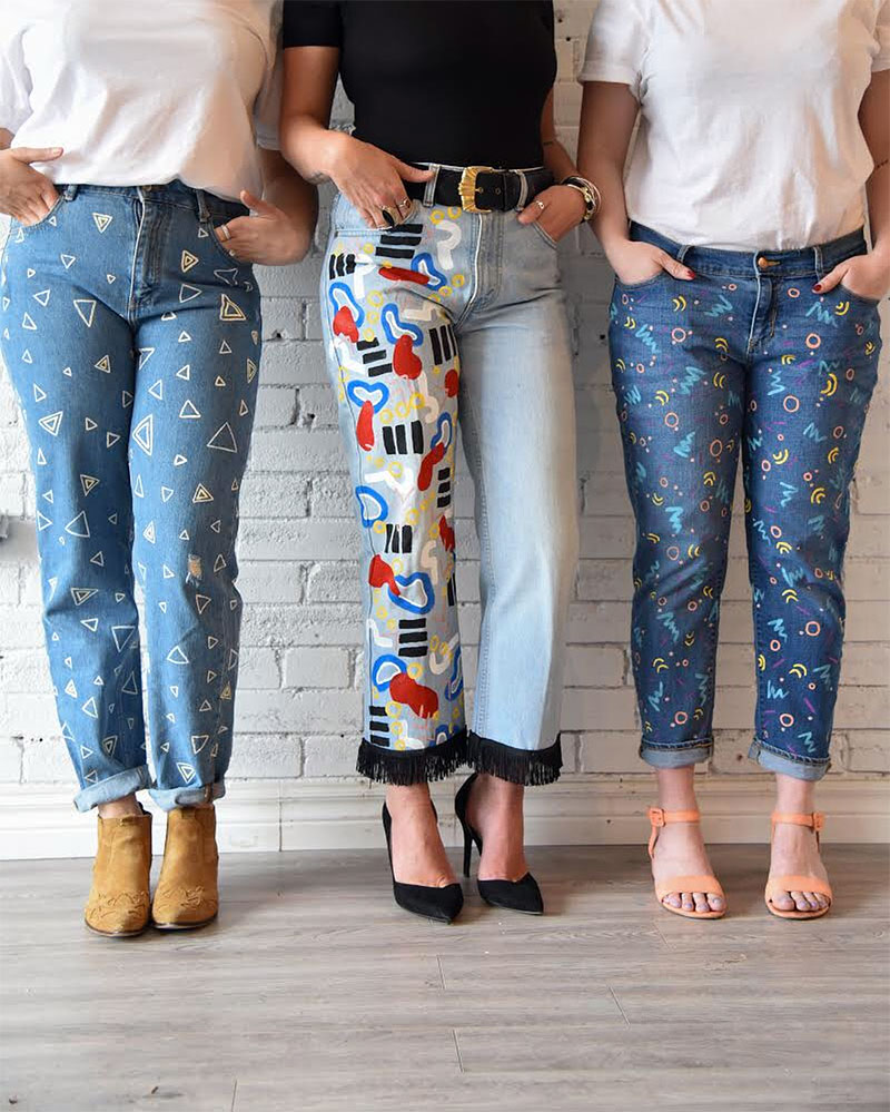 How To Make Your Own Ripped And Distressed Jeans Diy Denim