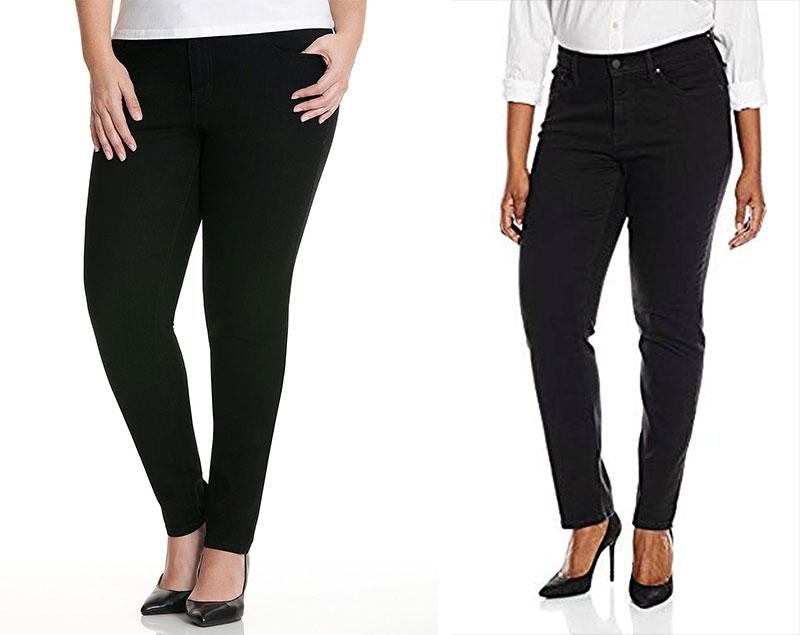 Lane Bryant Genius Fit Distressed Plus Size Jeans