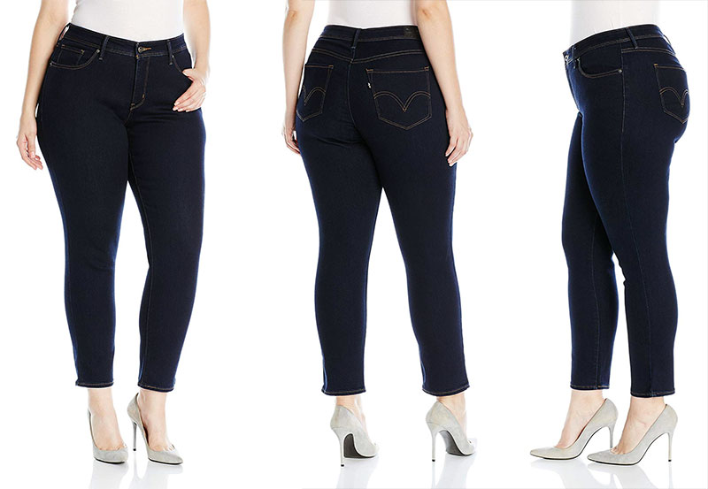 Levi's 512 Perfectly Shaping Plus Size Jeans