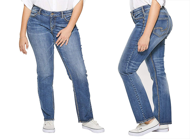 Silver Jeans Suki Mid-Rise Bootcut Jeans