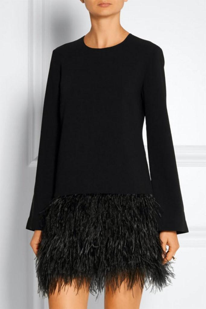 A Little Black Sheath Dress