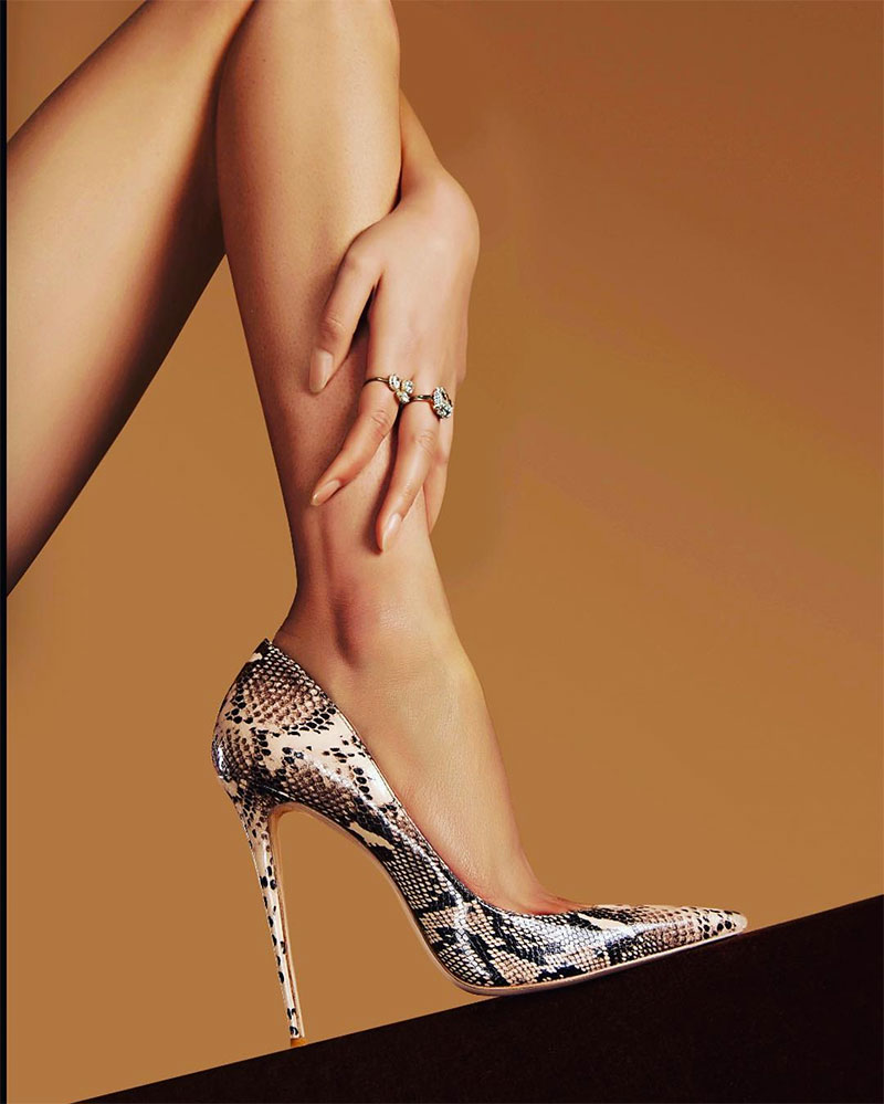 Stiletto High Heels