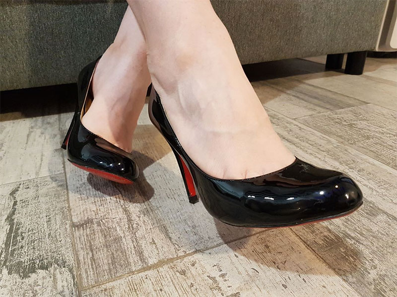 Rounded Toe Pumps