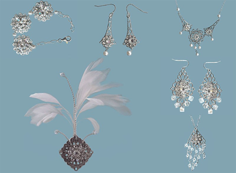 Feminine Filigree Jewelry