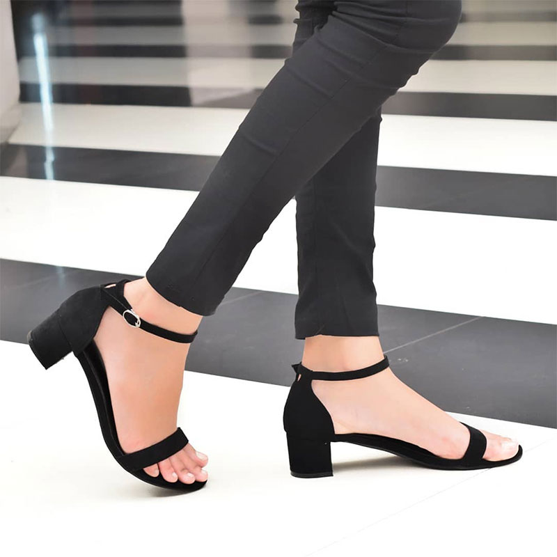Toes and Straps Heels