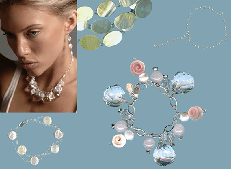 Bridal Jewelry: Beach Bride