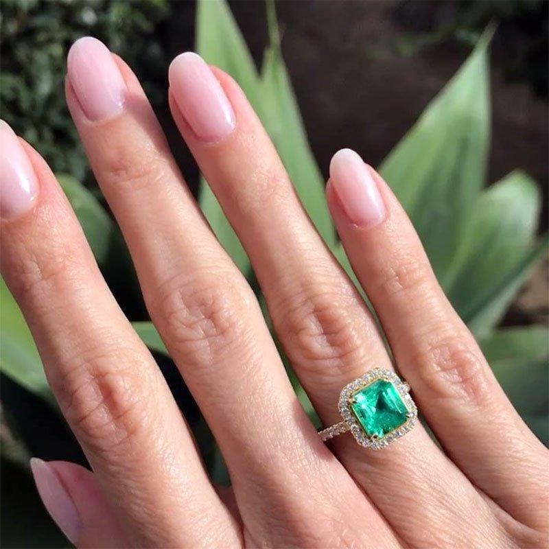 Green Emerald Gemstones