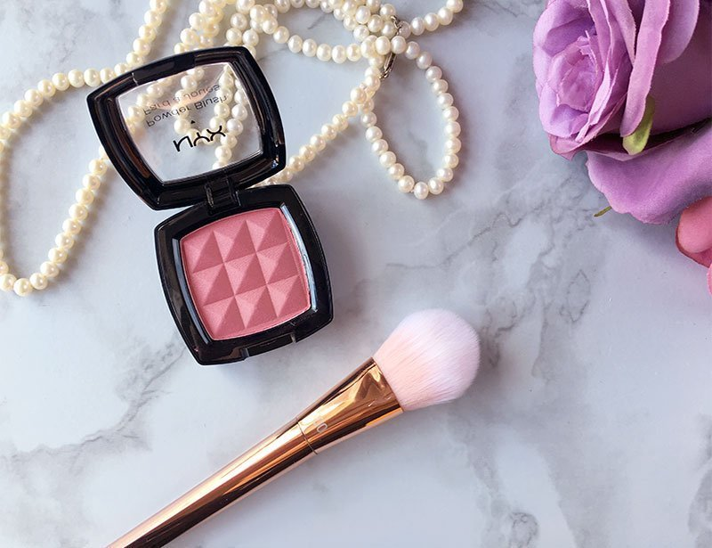 NYX blush in pinched review