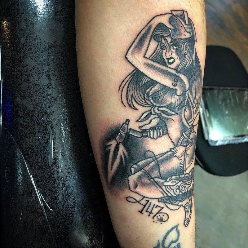 Pin-Up Girls Tattoos