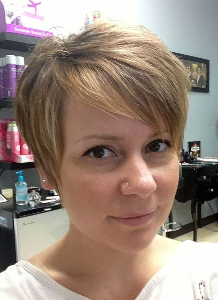 growing out a pixie cut into a bob