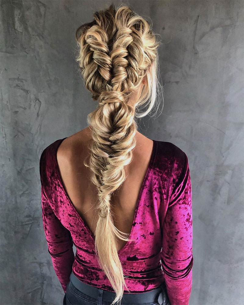 Fishtail Braids Tutorials