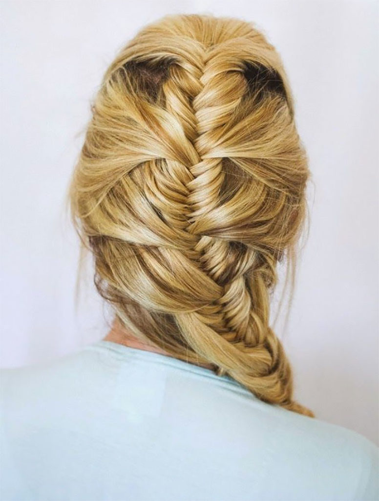 Fishtail French Braid Combo