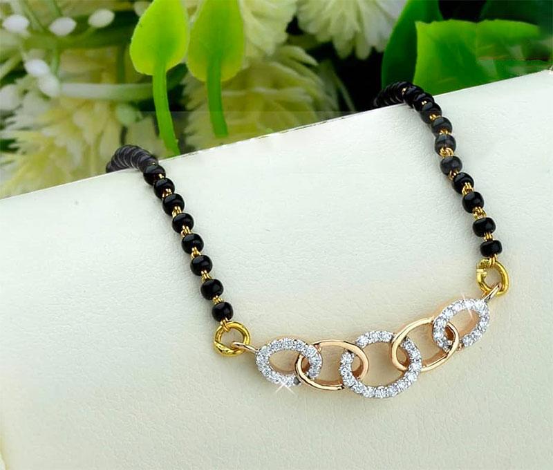 6 Gold Mangalsutra Design Trends Blufashion Com