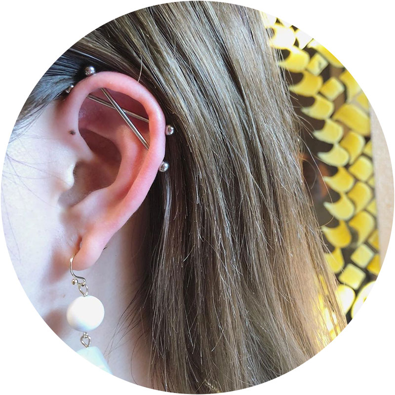 Industrial Piercing Aftercare