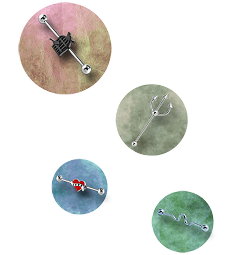 Industrial Piercing Jewelry