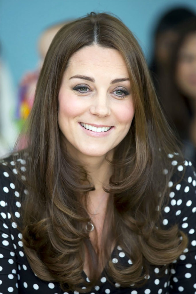 Kate Middleton complexion polka dot maternity dress ASOS 2