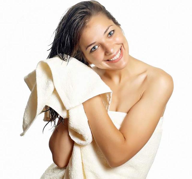 Pat Your Hair Dry