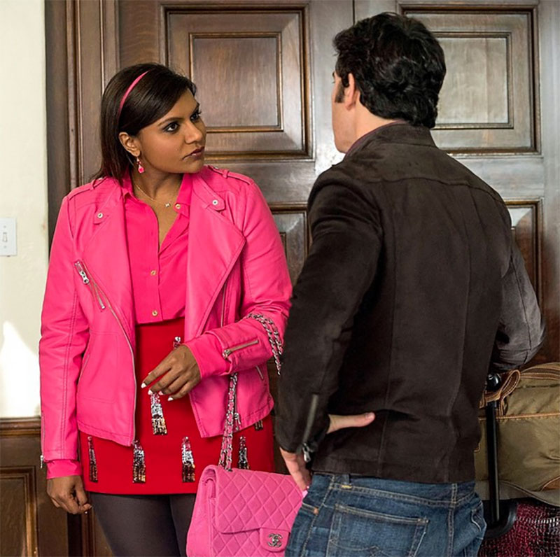 red and pink mindy lahiri