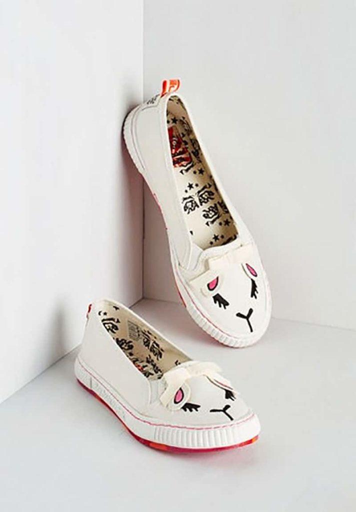 Animal Imprints Lamb Sneakers