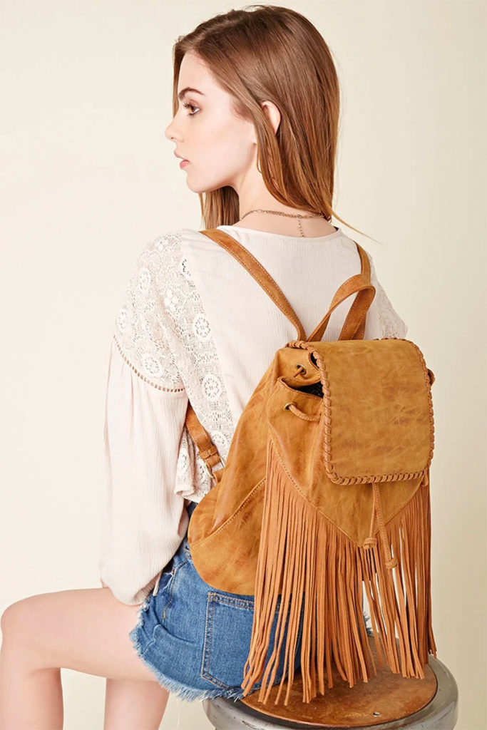 Izzy and Ali Fringed Backpack