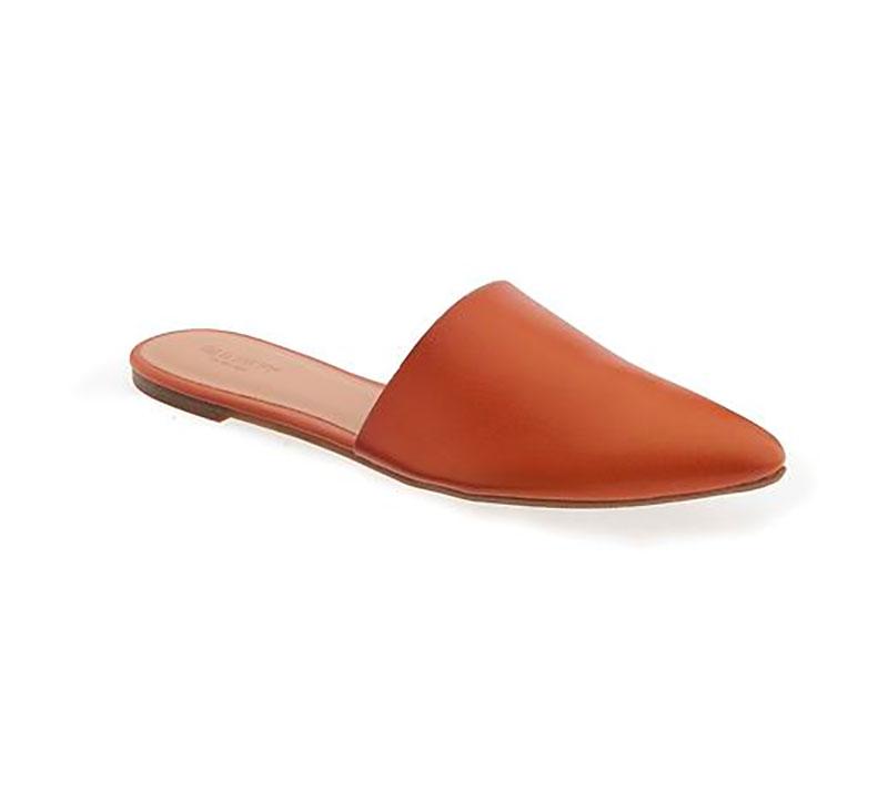Pointed Flat Fashion Mule