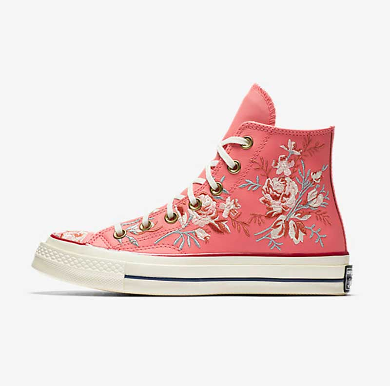Chuck 70 Parkway Floral Low Tops